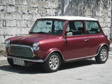 1963 Austin Mini Maroon Miguel Follosco