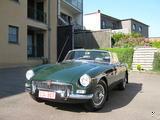 1963 MG MGB MkI British Racing Green Christoph Vaningelgem