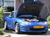 1999 Mazda MX 5 Innocent Blue Tom van den Heuvel