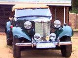 1951 MG TD BRG Ivan de Clerk