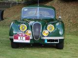 1952 Jaguar XK120 Green Juergen M Osmer