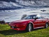 1986 Toyota MR2 Super Red 3E5 Josh Carson