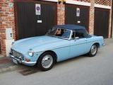 1967 MG MGB MkI Iris Blue Enrico Negroni