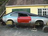 1983 Ford Capri Blue luke o brien