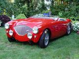 1954 Austin Healey 100 Red jeff maynard