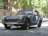 1965 Austin Healey Sprite Riviera Blue Paco Moreno de Barreda