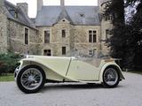 1947 MG TC Yvory Patrick Van Gelder