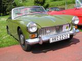 1965 MG Midget MkII Tundra Green Martin Jisa