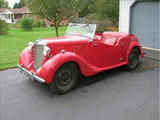 1950 MG Y Type Saloon