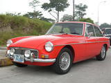 1968 MG MGB GT Red Carlos Ruiz