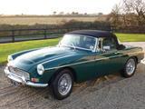 1968 MG MGC British Racing Green bryan strahan