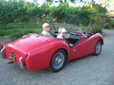 1954 Triumph TR2 Red John Bazzano
