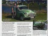1958 Morris Minor 1000 Saloon 4 door