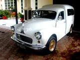 1956 Morris Minor 1000 Van White Dimas Tri Adji