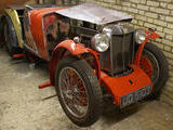 1932 MG F Type Magna Red Ian Ross