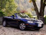 1998 Mazda MX 5 Blue Paul Isaacs