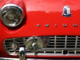 1961 Triumph TR3A Red Antoine Sire