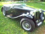 1948 MG TC Black Raymond McAuliffe