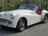 1958 Triumph TR3A White Tapani Lehtinen
