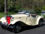 1951 MG TD MkII