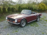 1970 Triumph TR6 Burgundy james naughton