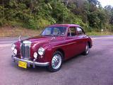 1956 MG Magnette ZB RED Burgundy Carlos Zea