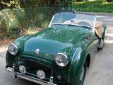 1956 Triumph TR3 Triumph Racing Green Lundy Sykes