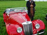 1954 MG TF Red Anders Hammarstrom