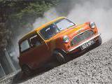 1960 Morris Mini Minor Orange yellow colin weeks