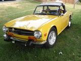 1974 Triumph TR6 YELLOW LEO H