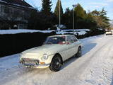 1968 MG MGC GT Snowberry White Jim Henderson