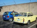 1962 Triumph Herald 1200 Yellow Grant Malherbe