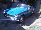 1964 MG Midget MkII Riviera Blue Lawrence Jane