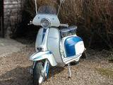 1962 Lambretta TV 175 Series 3 White And Blue Maurice Laker