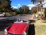 1962 MG Midget MkI Red Jerry Pierce