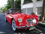 1959 MG MGA 1500 Red Erik Huyer