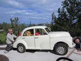 1969 Morris Minor 1000 Saloon 4 door Snow Berry White Zach Sagurs