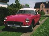 1963 MG MGB Tartan Red Yvo Meyers