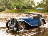 1937 MG TA Blue Owen Frankland