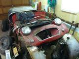 1957 Triumph TR3 Was Red Now Bare Metal Dan Sawchuk