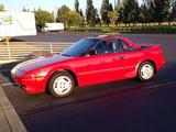 1986 Toyota MR2 Coupe Red LeAnn L