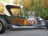 1923 Ford Model T Green Michael Bennett