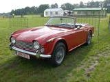 1968 Triumph TR4A Synjal Red Walter Molemans