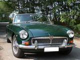 1963 MG MGB British Racing Green Dark Riccardo Destefanis