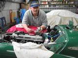 1958 Triumph TR3A BRG Ian Simmons