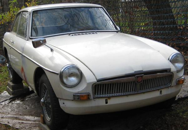 1967 MG MGB GT Special (GHD3L93495) : Registry : The Morgan Experience