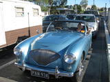1954 Austin Healey 100 Healey Blue Alwyn Keepence