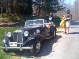 1952 MG TD MkII
