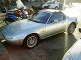 1997 Mazda MX 5 Silver carlo pozzi