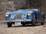 1955 Austin Healey 100 Blue Don Macdonald